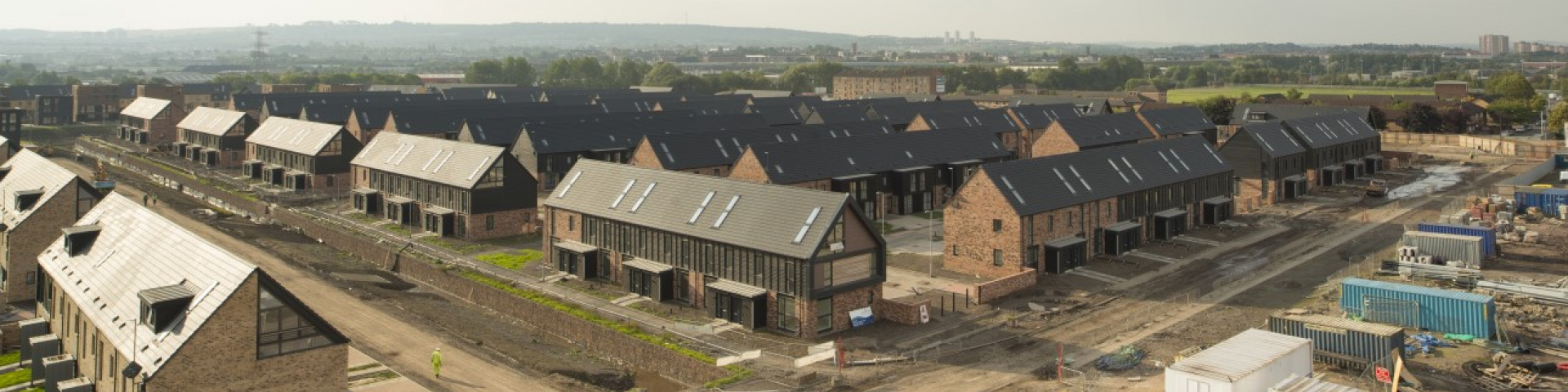 A new housing development being built. Image © Tom Manley.