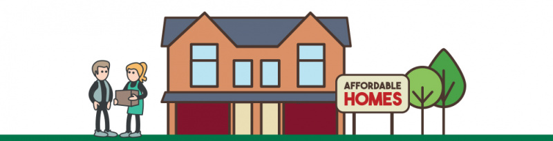 Animation image of affordable homes for sale