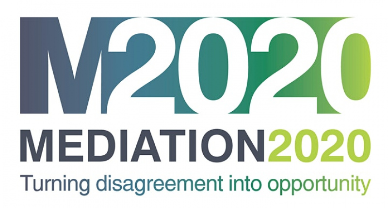 Mediation 2020 logo - Turning disagreement into opportunity