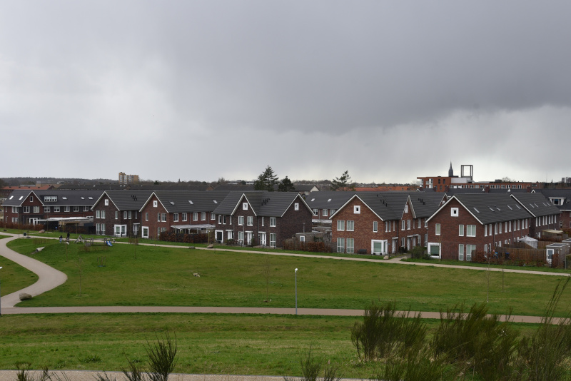 38 social-rental single-family homes in the Anna's Hoeve development in Hilversum, the Netherlands (Courtesy Sebastian Dembski)