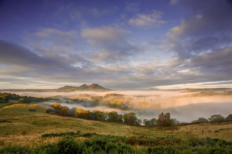 Eildon Hills in the Scottish Borders. iStock photo - Credit: SW_Photo