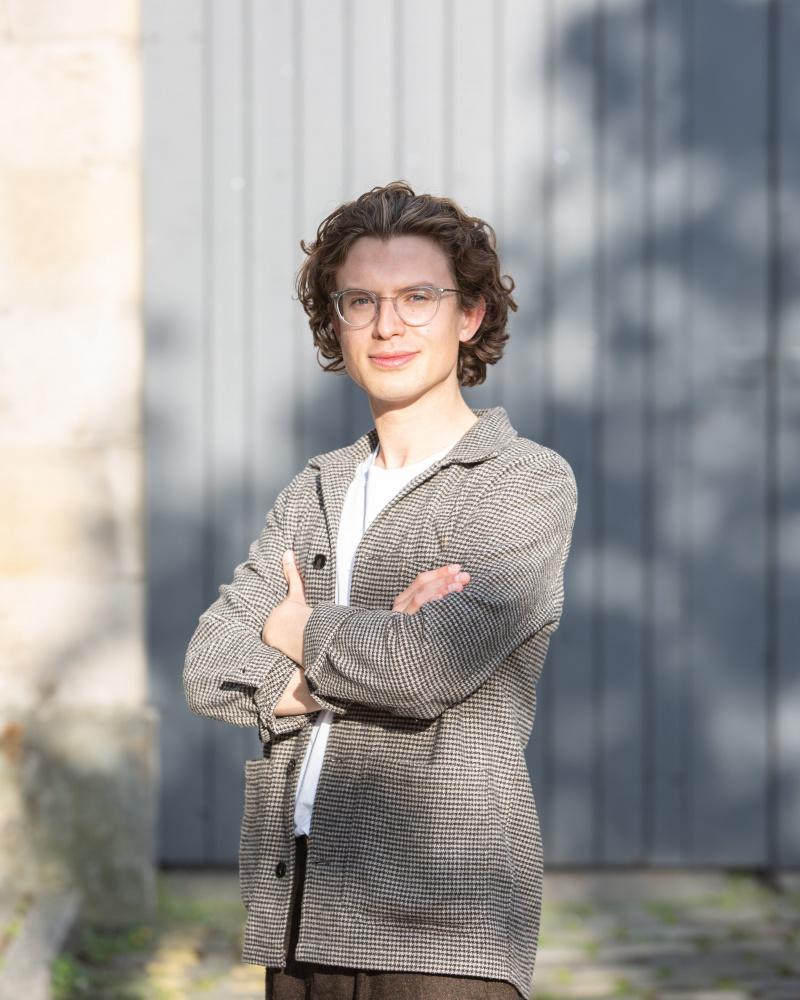 Harry Whitmore, National Student Award winner 2021. Image credit: Findlay MacDonald.