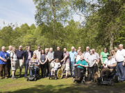 Doune Community Woodland Group volunteers