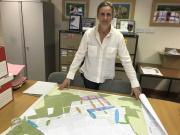 Rebecca Russel with Findrassie masterplan
