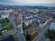 Aerial View of Anderston Regeneration Project 2018 (Credit - Andrew Lee; courtesy of Collective Architecture)
