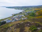 Aerial view of the Achtercairn development in Gairloch, Wester Ross (Credit - Communities Housing Trust)
